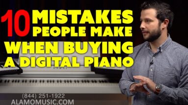 Top 10 Mistakes When Buying Digital Pianos